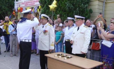 Крым: юное пополнение россий…