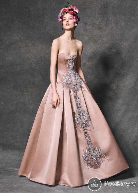 Вечерние платья Dolce & Gabbana зима 2017