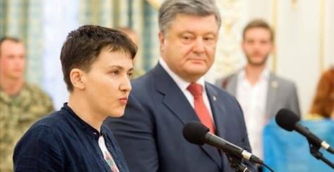 Савченко предложила Порошенк…