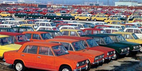 Площадки готовой продукции в СССР