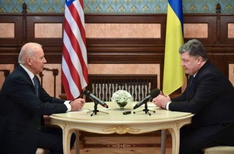 В Киеве резко отреагировали на слова Байдена о Донбассе