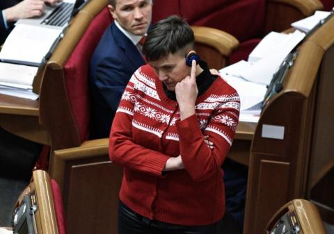 Савченко предложила коллегам…