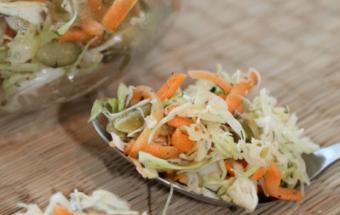 Салат из капусты с тыквенным…