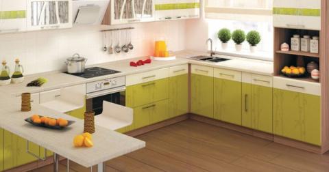Кухонный угловой гарнитур - …