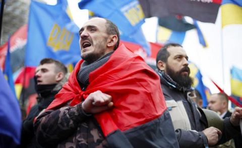 На Украине начался коричневый «Майдан»?