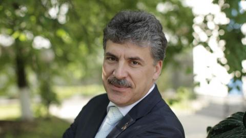 Грудинин об Украине: Мы рано…