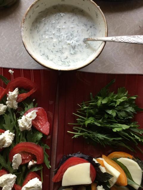 Очень летние салаты