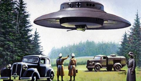 Сбитый в 1947 году Розуэлльский НЛО был изготовлен в Германии