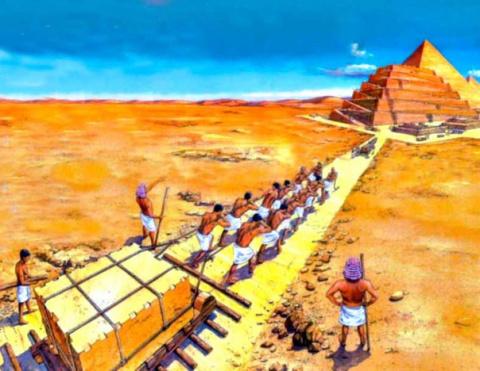 Египетские пирамиды с точки зрения инженерии