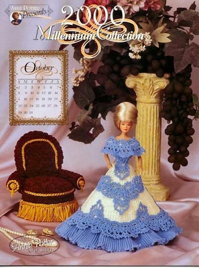 Вязаная кукольная мебель
