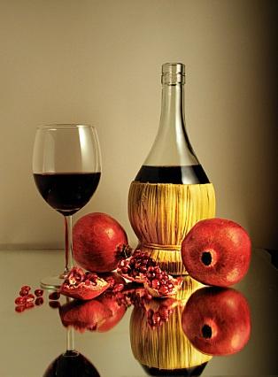 Спиртные напитки. Гранатовое вино