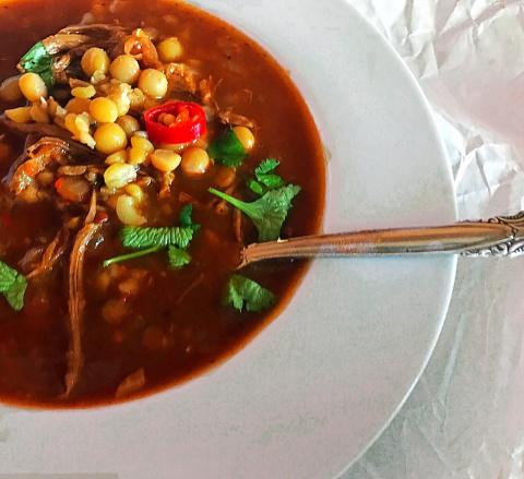 Восточный и пряный суп Харира