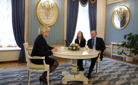 Встреча с Марин Ле Пен