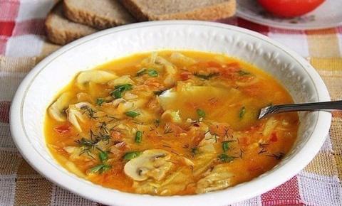 Вкусный кабачковый суп с гри…