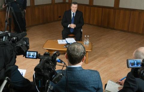 Янукович просит Трампа дать оценку действиям чиновников США во время украинского кризиса