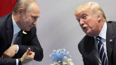 Химическая реакция Путина и Трампа. Пётр Акопов
