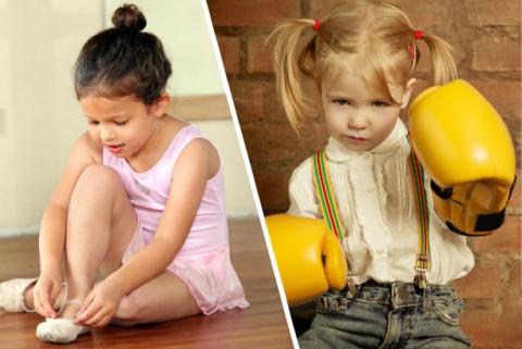 Балет или бокс: как выбрать …