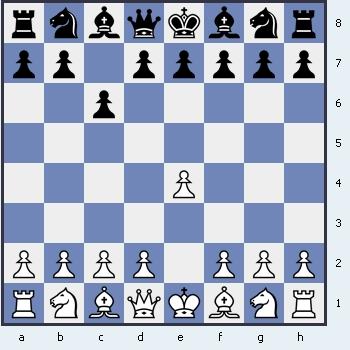 1.e4 c6 Защита Каро Канн