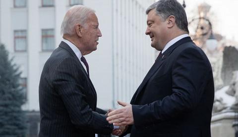 Порошенко — Байдену: Украина…