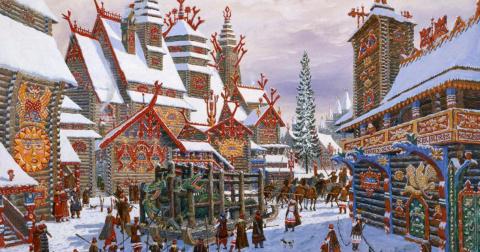Как на самом деле праздновали Новый год тысячу лет назад