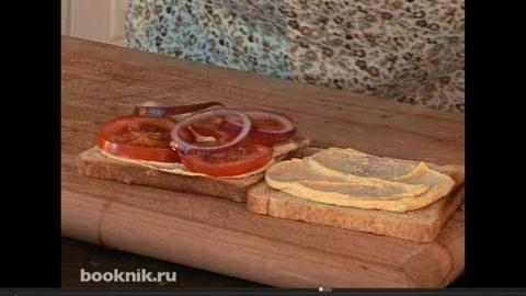 Не жалейте заварки 57: сэндвич с зеленым омлетом