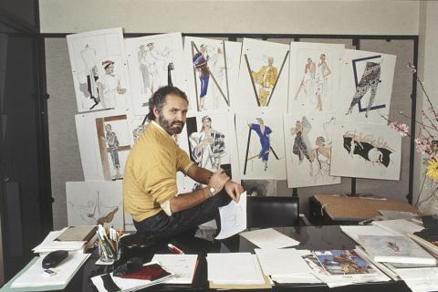 «Мода не стоит на месте, но одежда остается неизменной»: 10 советов Джанни Версаче