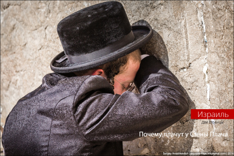 Почему плачут у Стены Плача