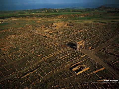 Руины древнеримского города - Джемила