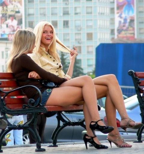 Изящные, красивые женские ноги (27 фото)