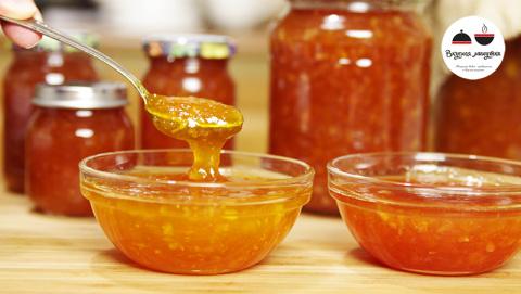 Персиковое варенье (желе) с …