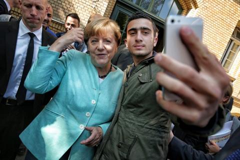 Немцы массово покидают Германию