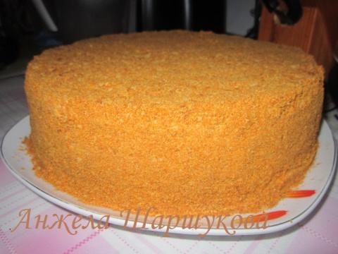 """торт""""Рыжик"""""""