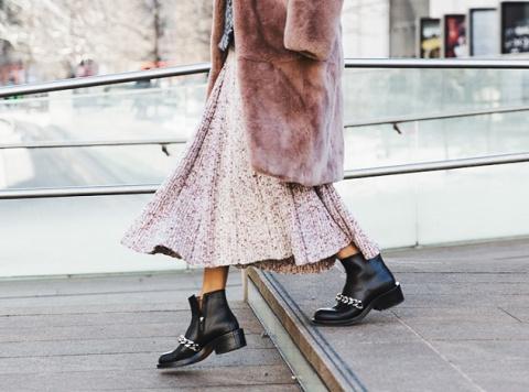 Грубые ботинки: с чем их носят сегодня