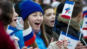 День воссоединения Крыма с Россией отметили более 14 тысяч жителей Симферополя