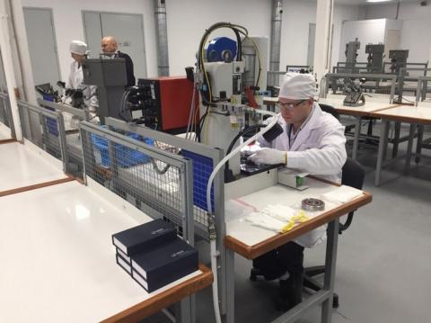 В Вологде открыт новый завод по производству высокоточных подшипников