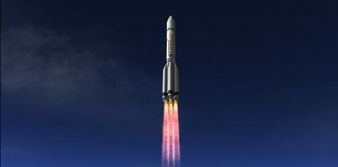 Российская ракета Протон-М с…