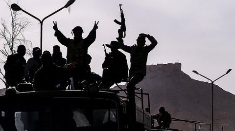 Сирийский спецназ прорвался …