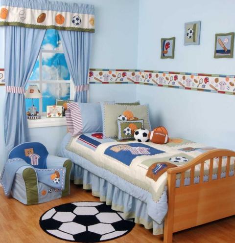 Креативный дизайн детских комнат. Идеи