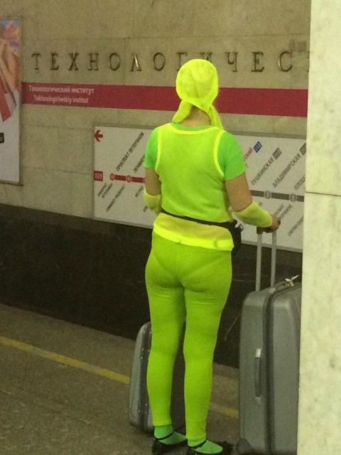 Угарные кадры из метро. Что это было?
