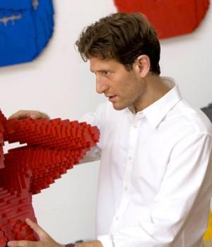 LEGO-скульптуры «Я в частях»