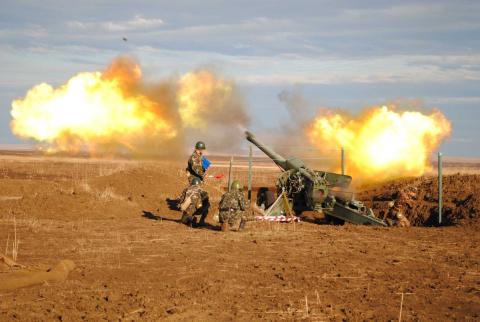 ВСУ из тяжелой артиллерии обстреляли ЛНР
