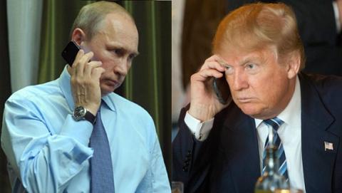 Разговор Путина и Трампа дли…