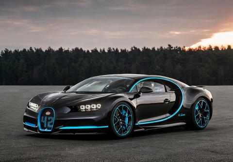 Для съемки видео про Bugatti…