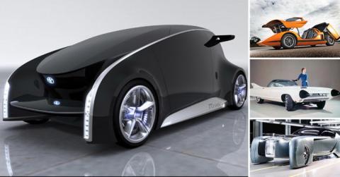 По-настоящему неожиданные и удивительные автомобили разных лет
