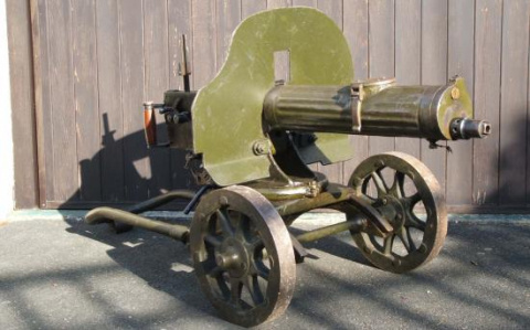 На вооружение «сильнейшей армии Европпы» возвращается пулемет «Максим» образца 1910 года