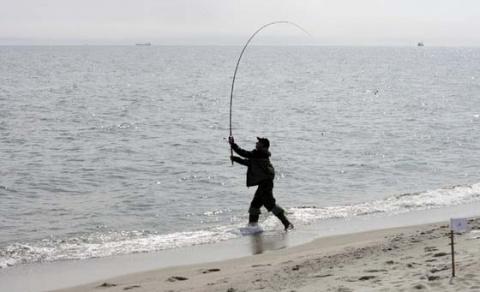39. Рыбалка на море. Дальний заброс.