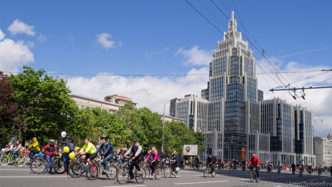 Московский Велопарад – взгля…