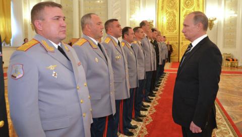 Путин поручил ФСБ действоват…