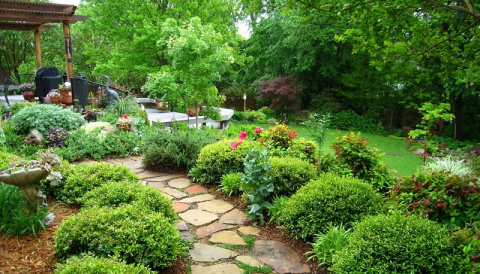 Верх удобства! Идеи сада для ленивых.