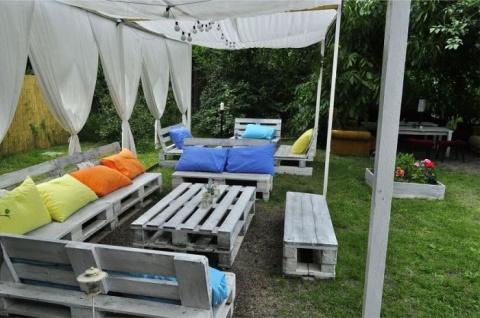 Идеи по обустройству летнего патио